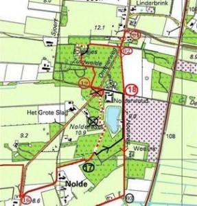 K33 einde route